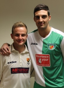 Jonny and Mat - Used to teamwork in their sports, now work as a team at County Insurance