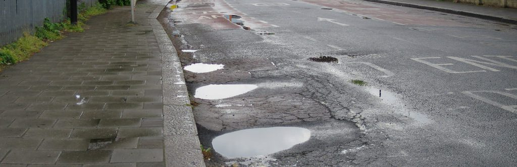 Spring Driving Tips - Potholes